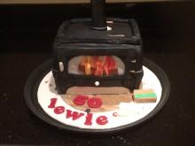 I love logburners. My birthday cake!